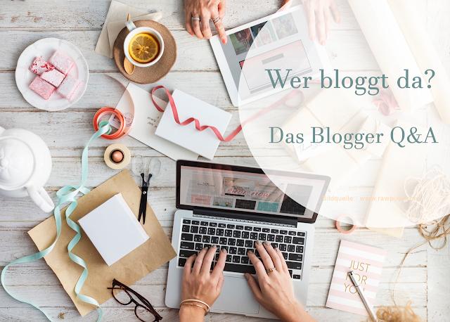 Blogparade - Wer bloggt da?