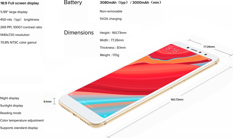 Xiaomi Redmi S2 4G Phablet - 1