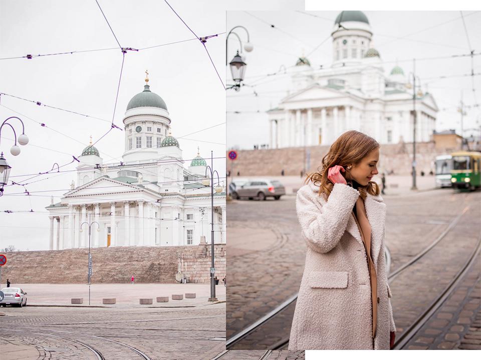 Scandinavian street style, Helsinki Cathedral - Talvimuoti, bloggaaja, asuinspiraatio, Helsinki, Tuomiokirkko
