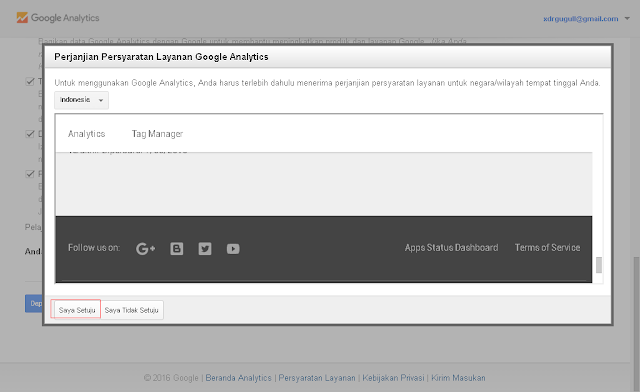 Cara memasang Google Analytics di Blogspot