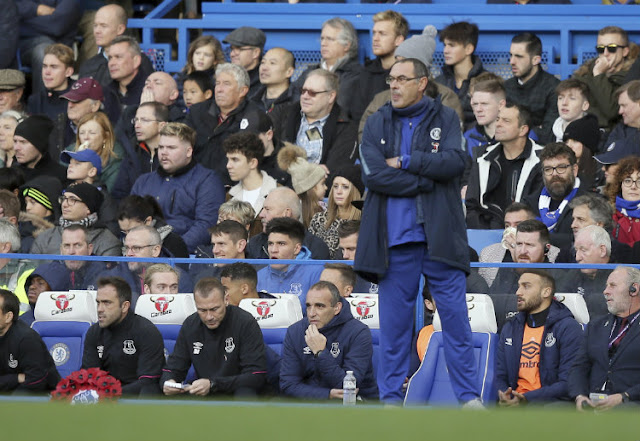 Maurizio Sarri tetap optimis timnya bisa menang dalam laga melawan Man City.