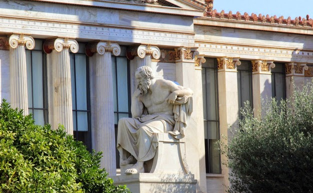 48. Philosophy too. (A statue of Plato in Athens.) - 49 Reasons To Love Hellas (Greece)