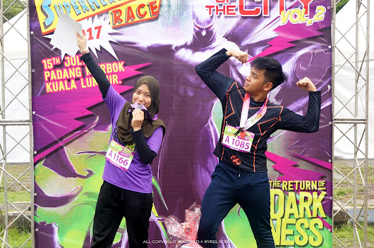 Superheroes Race Vol. 2 (Padang Merbok)