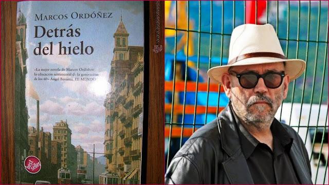 """Marcos Ordóñez, Babelia, """"Detrás del hielo"""""""