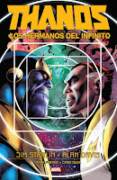 ORIGINAL GRAPHIC NOVELS. THANOS LOS HERMANOS DEL INFINITO