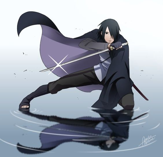 sasuke uchiha blade