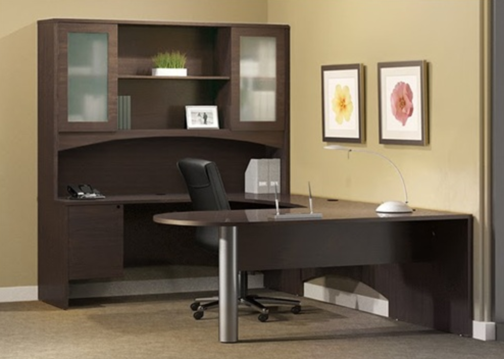 Mayline Brighton Series Executive Desk Typical