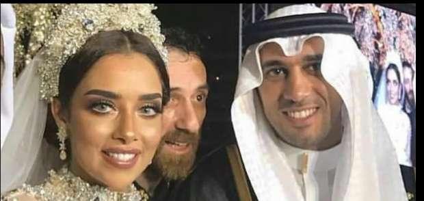 بالصور..بلقيس تحتفل بزواجها على رجل أعمال سعودي بحفل زفاف إسطوري وترتدي فستان من الماس