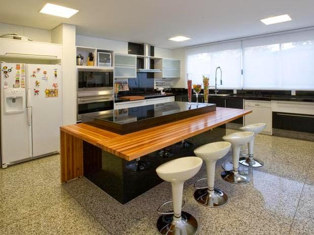Construindo Minha Casa Clean Tend 234 Ncia De Cozinhas Com Ilha Central E Ilha Americana Veja