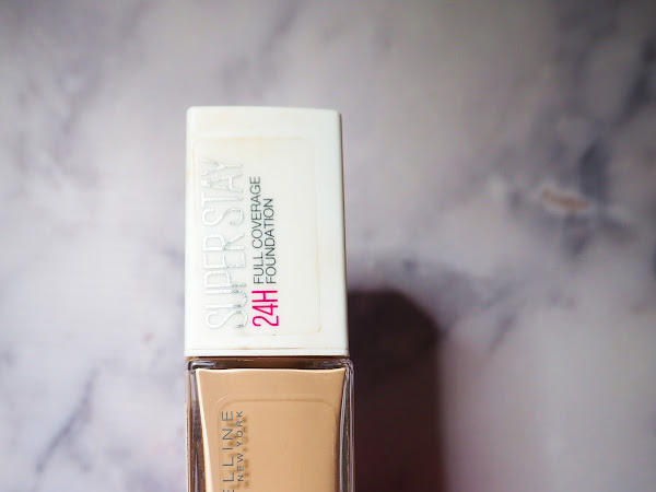 REVIEW: MAYBELLINE SUPERSTAY 24 HOUR FOUNDATION