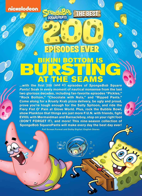 New Spongebob Episodes 2020 : spongebob, episodes, NickALive!:, Nickelodeon, Release, 'SpongeBob, SquarePants:, Episodes, Ever!', Monday,