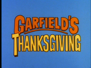 Thanksgiving Countdown Garfield Thanksgiving