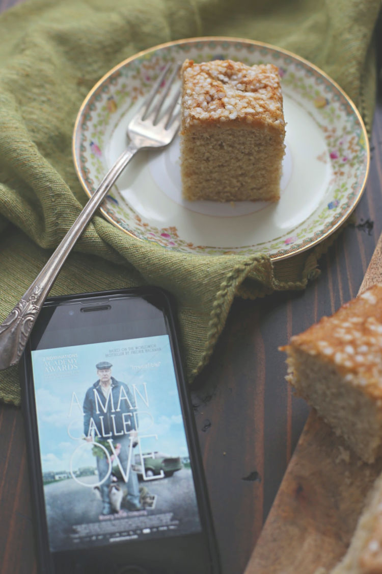 Swedish Cardamom Cake (Kardemummakaka) inspired by A Man Called Ove
