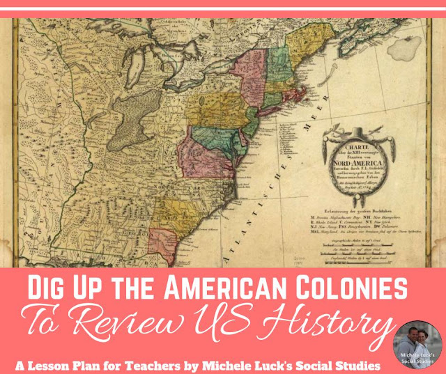 Dig Up the American Colonies to Review US History