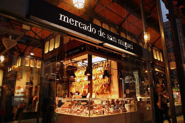 Mercado de San Miguel em Madri
