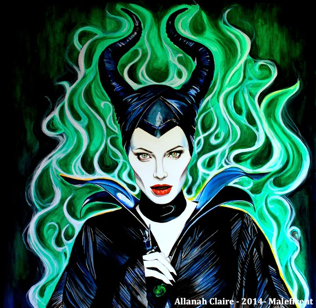 Allanah Claire Art Maleficent Is Here D