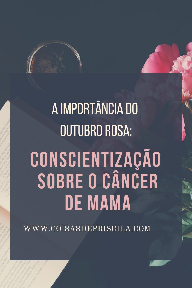 Outubro rosa: Câncer de mama