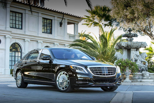 Donald Trump Mercedes-Benz S600