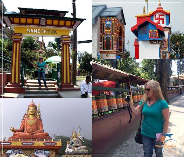 Os templos de Sikkim