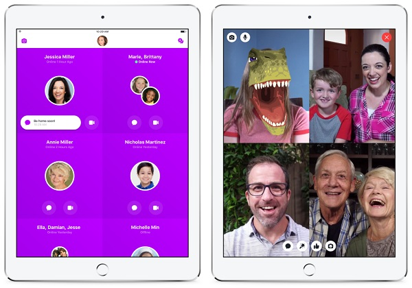 Facebook's Messenger Kids launches on iOS, a new app for kids to safely video chat and message with family and friends