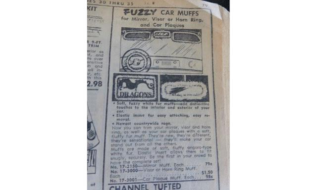 Fuzzy Car Muffs