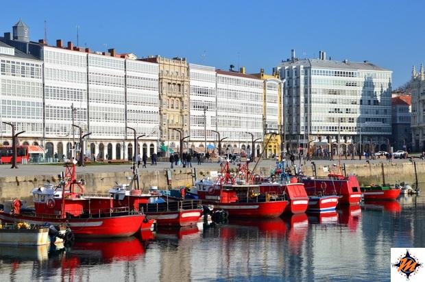 La Coruña, Darsena de La Marina