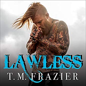 Currently Reading ! Listening to a brand new author to us!  Lawless: King Series #3