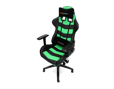 MAXNOMIC Thunderbolt (Green) Premium Gaming Office and Esports Chair