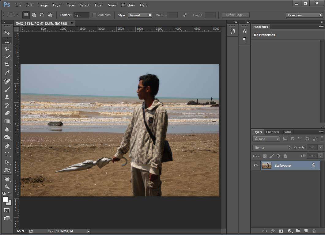 Cara Unblur Gambar dengan Photoshop
