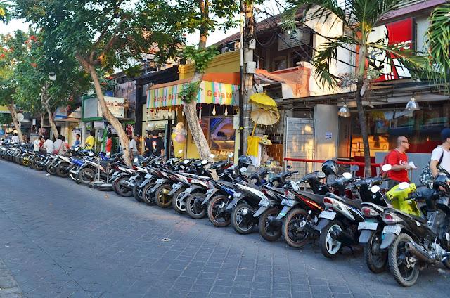Sewa Motor Kuta, Legian Bali