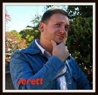 Jerett in a pensive pose