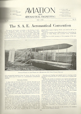 Exhibit of 1903 Wright Flyer S.A.E. Aeronautical Convention