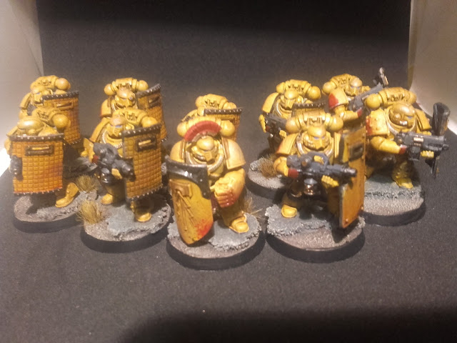 Imperial Fists Breacher Squad