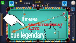 cara mendapatkan cue legendary di 8 ball pool