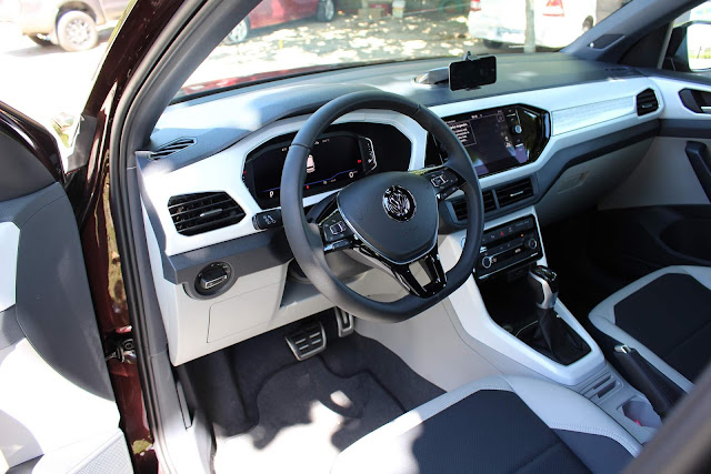 VW T-Cross 250 TSI Automático Highline - Interior