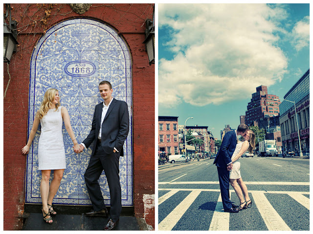 romantic NYC West Village engagement session | photos by https://www.artoflove.com/