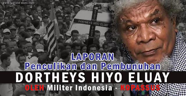 Melawan Lupa: Penculikan dan Pembunuhan Terhadap Theys Eluay, 11 November 2001