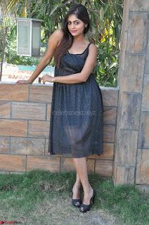 Pragya Nayan New Fresh Telugu Actress Stunning Transparent Black Deep neck Dress ~  Exclusive Galleries 030.jpg