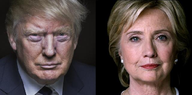 Hillary Clinton y Trump: la misma vaina