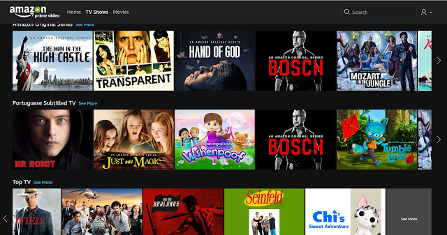 Amazon Video Prime concorrente a Netflix