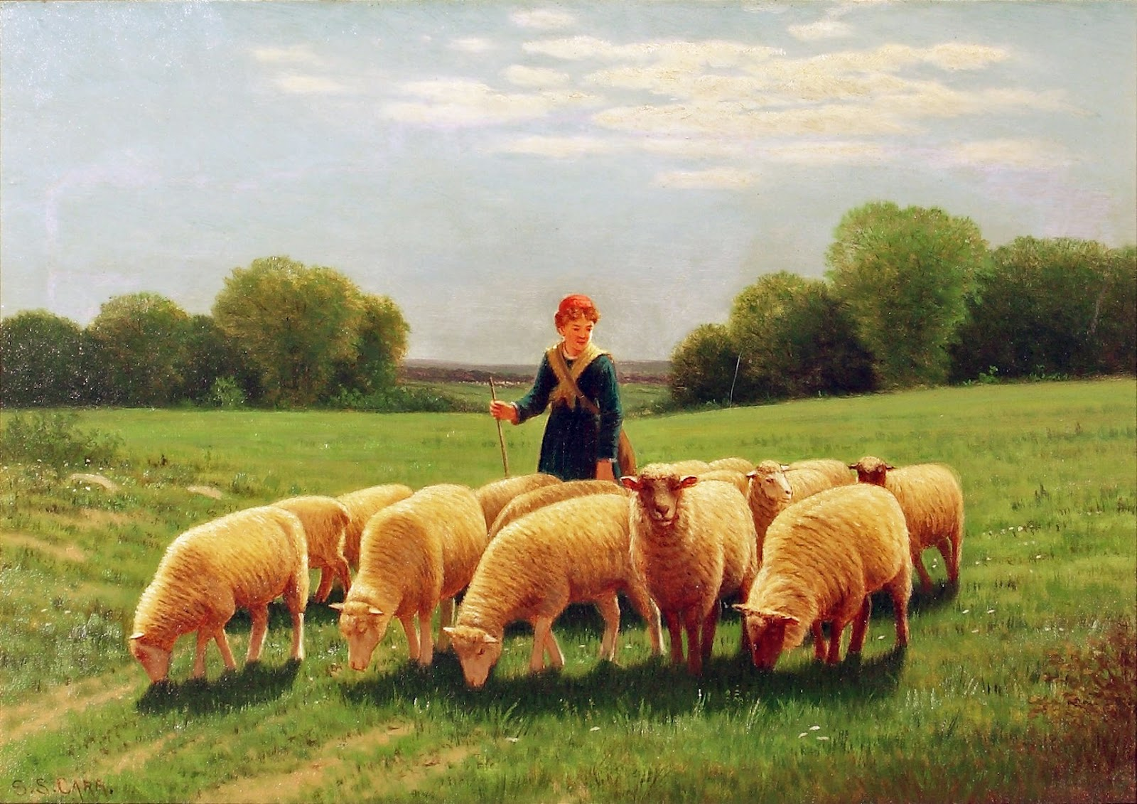 Pastoral Home Paintings