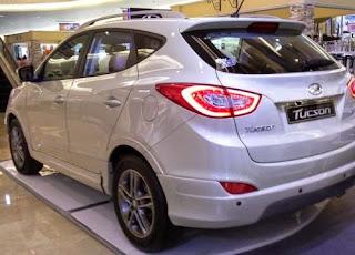 Tampilan Belakang Hyundai Tucson