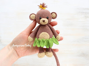 Amigurumi Monkey Pattern Free : Amigurumi free patterns