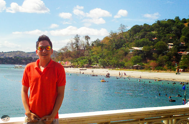The Subic beach near Oceanview Hotel and Resort