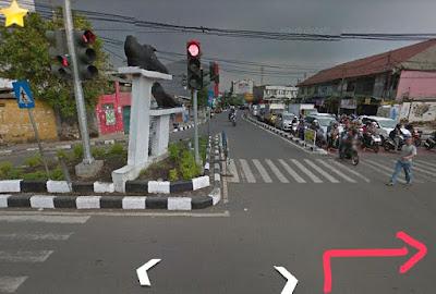 Rute jalan  ke Jalak Harupat stadion soreang Bandung