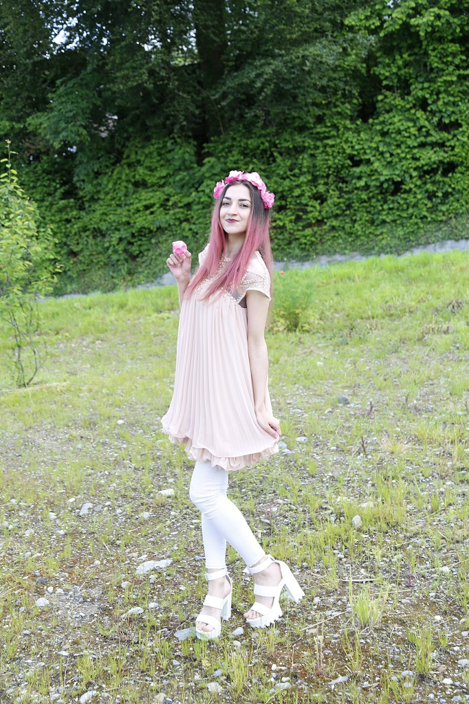 kayashionista fashion blog schweiz pink hair don t care kevin
