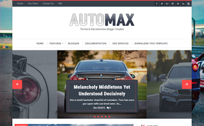 Automax Blogger template responsive