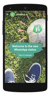 WhatsApp New Status Features