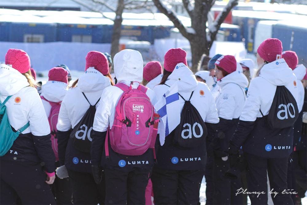 Plunge by Tiia - Tiia Willman - FIS nordic World Ski Championships, Lahti 2017