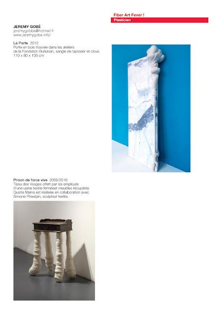 sculptures textiles, art textile contemporain